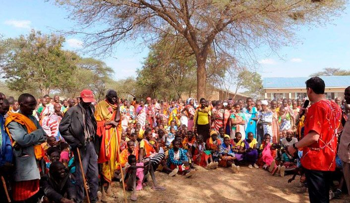 Gospel among the Maasai tribe