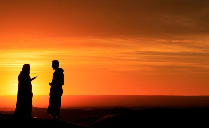 Tu sei nipote o figlio di Abrahamo?