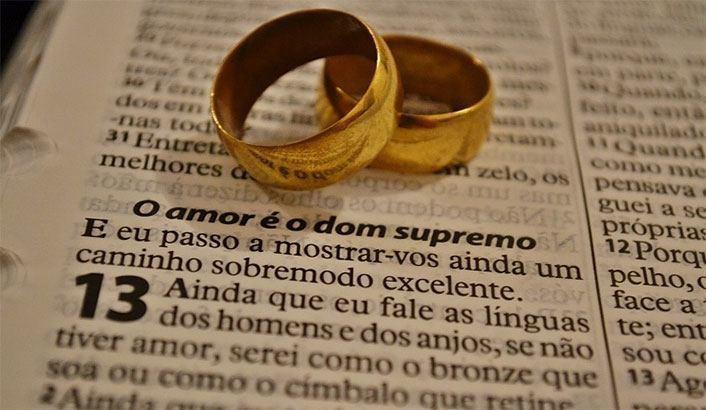 Matrimonio Civil O Religioso Biblia : Não é bom que o homem esteja só