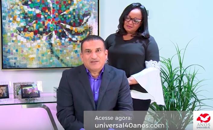 Bispo Guaracy Santos e Thais Santos – Universal 40 anos