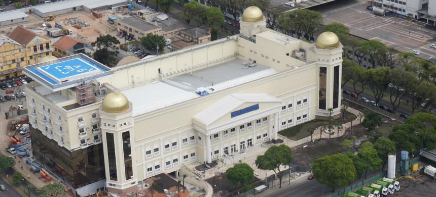 Templo Maior transforma Curitiba