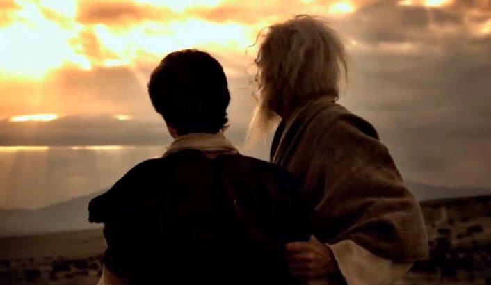 O que era o testemunho de Abraão