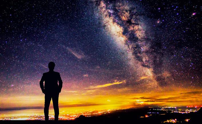 Olhe para o céu!