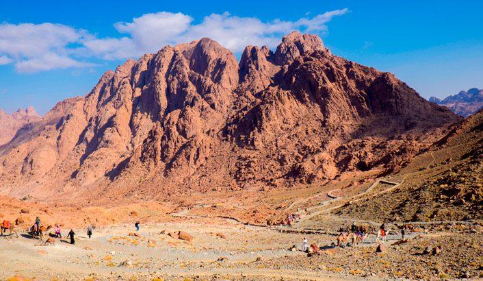 Sinai: da desolação à maravilha